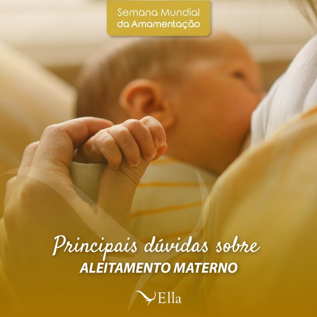 Read more about the article Principais dúvidas sobre aleitamento materno