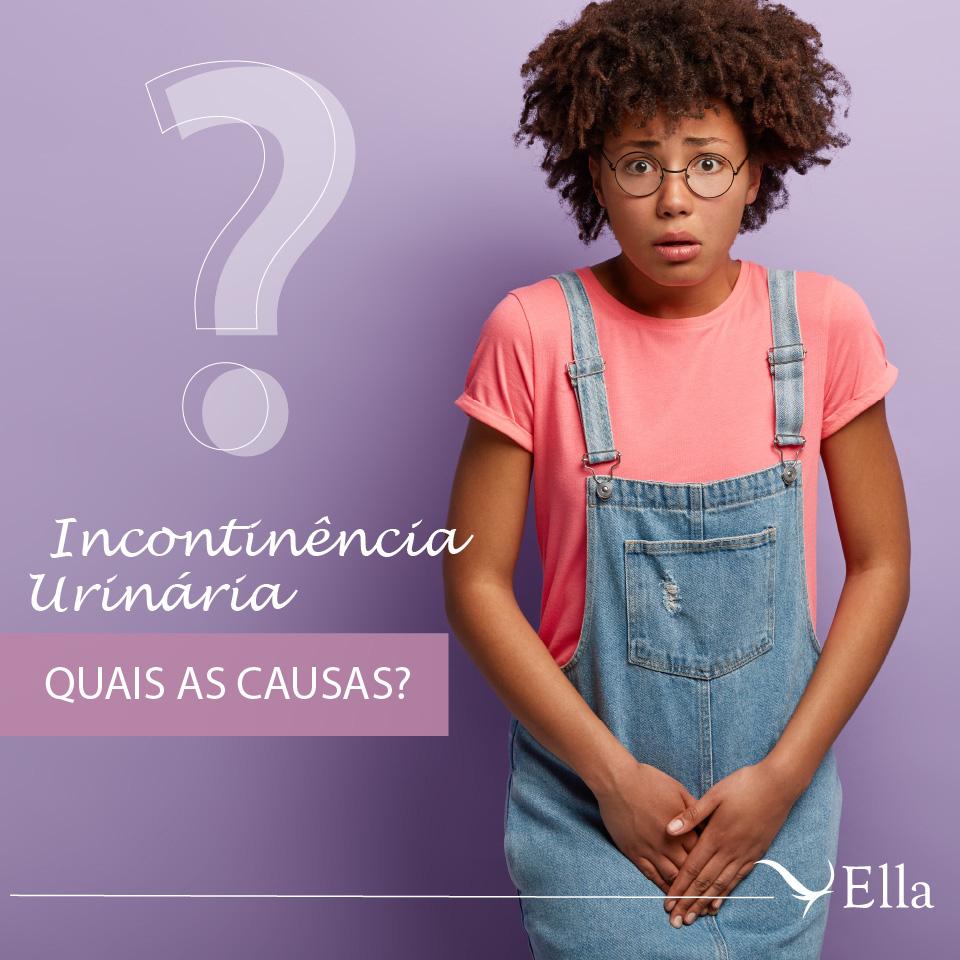 Read more about the article Incontinência urinária: quais as causas?