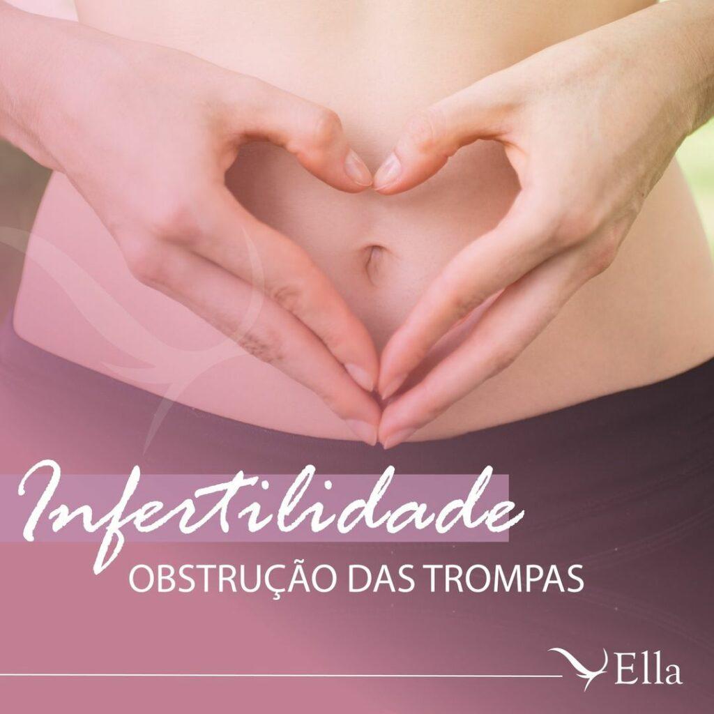 Infertilidade: obstrução das trompas